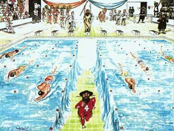 jewish swimmer